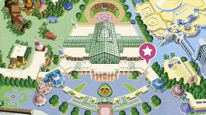 ベビーセンターのマップ画像