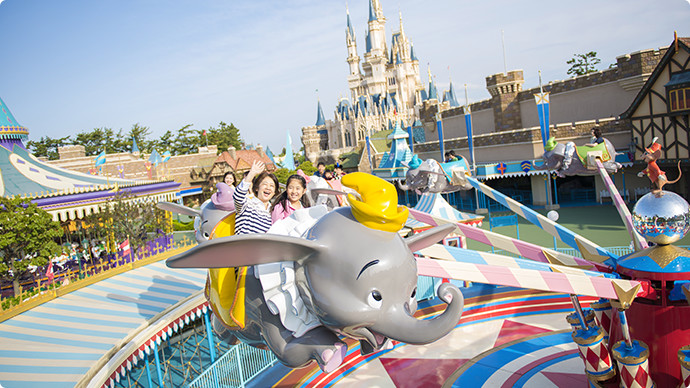 9.Dumbo The Flying Elephantのイメージ