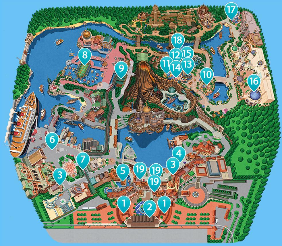 コースマップのイメージ