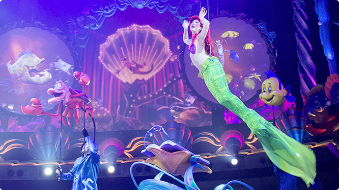 11.Mermaid Lagoon Theater (King Triton's Concert)のイメージ