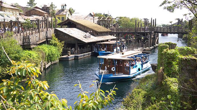 18.迪士尼海洋渡輪航線のイメージ