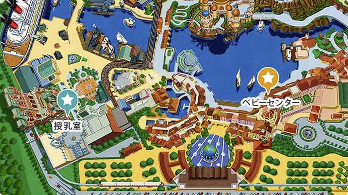 3. ベビーセンター/授乳のマップ画像