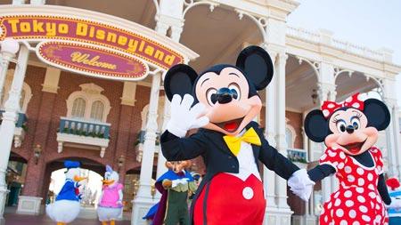 First Visit to Tokyo Disneyland