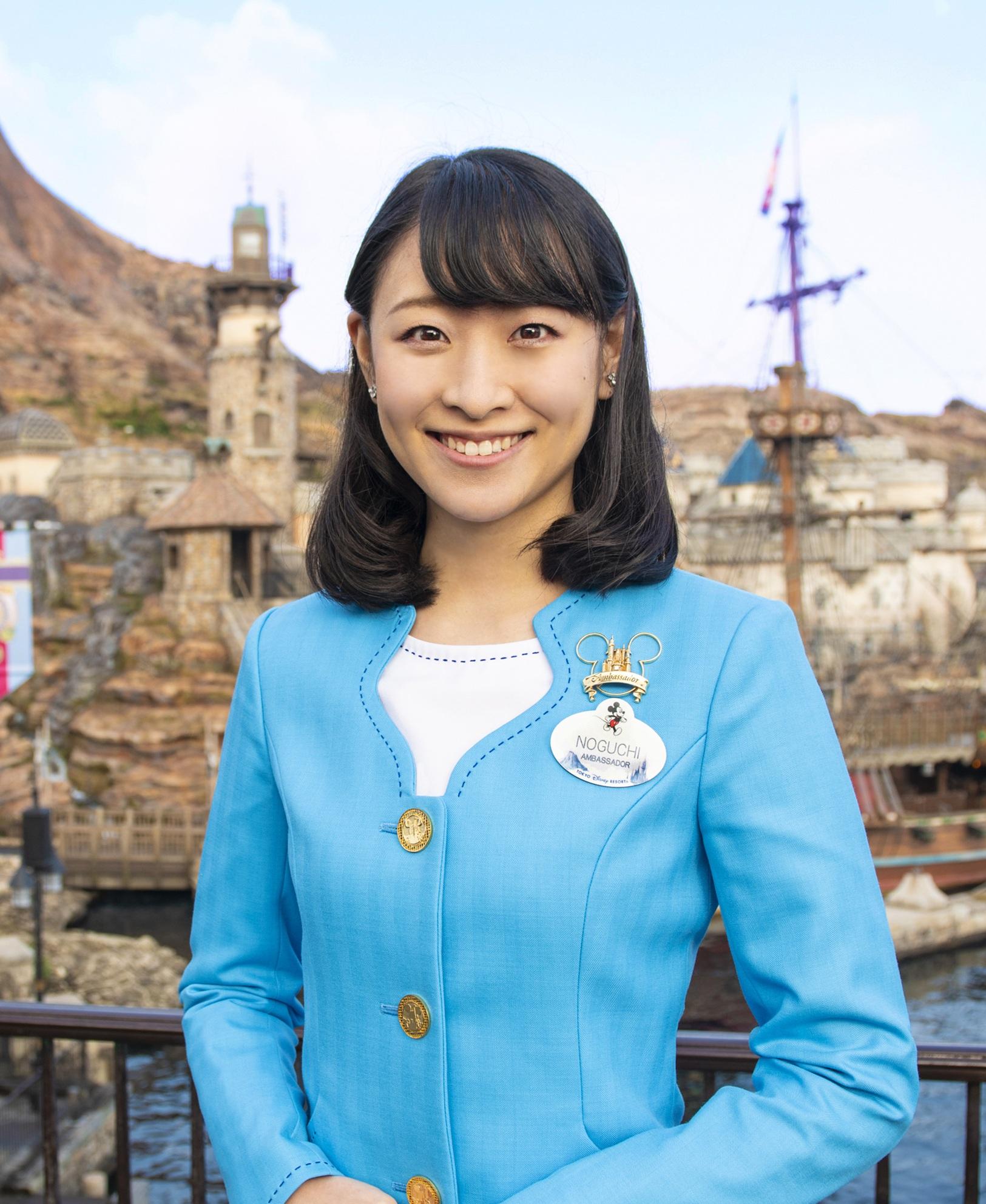 2019-2021 Tokyo Disney Resort Ambassador Ayumi Noguchi