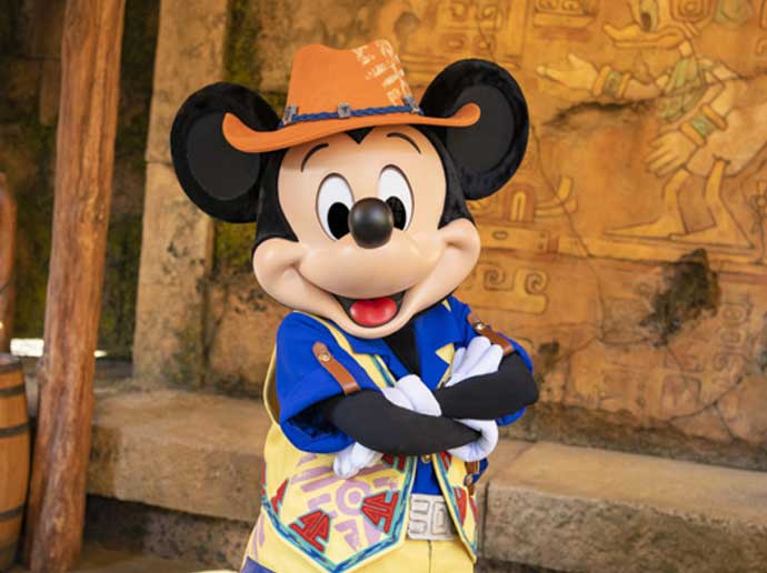 Disney Character GreetingsMickey & Friends' Greeting Trails (Mickey Mouse)
