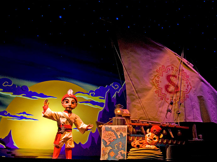 Young children can enjoy too Sindbad's Storybook Voyage, in Arabian Coast