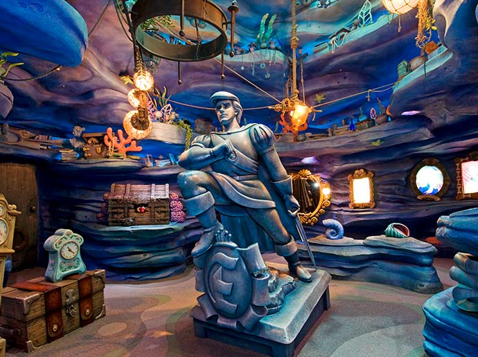 Have fun indoors Ariel's Playground in Mermaid Lagoon