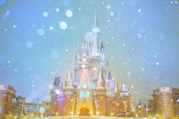 東京ディズニーリゾート雪の画像1