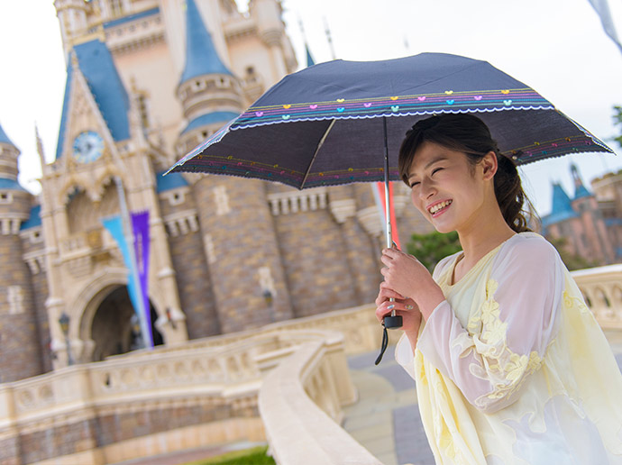 Walk around the Park in original rainwear!