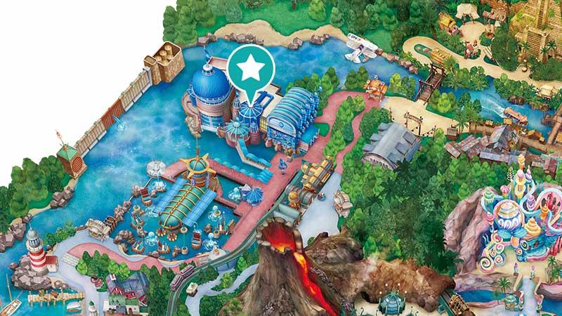 9.ニモ&フレンズ・シーライダーで海の世界を冒険