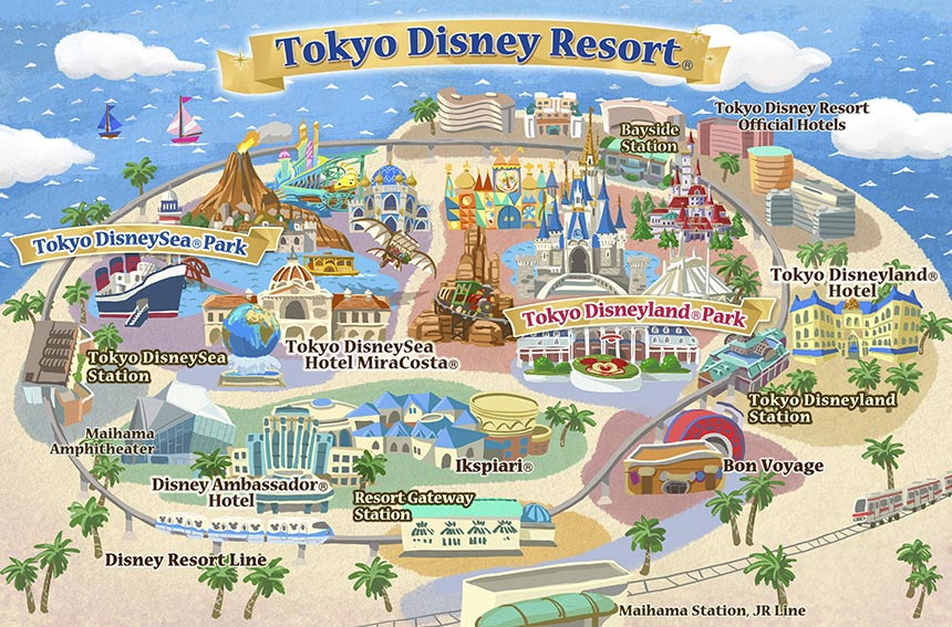 About Tokyo Disney Resort