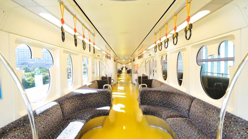 Interior Gerbong Kereta