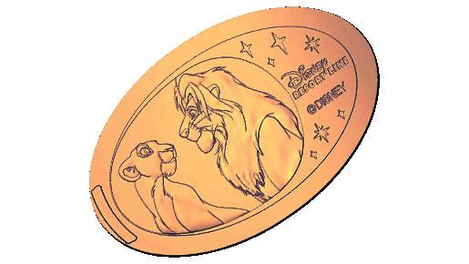 スーベニアメダルへリンク。