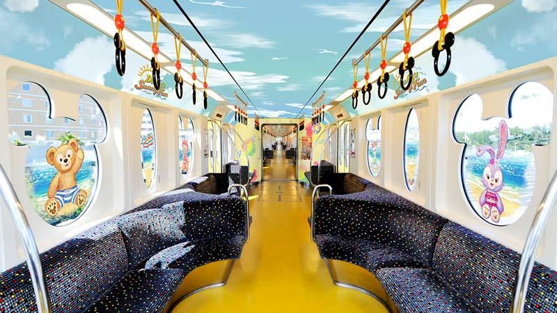 モノレール内のイメージ
