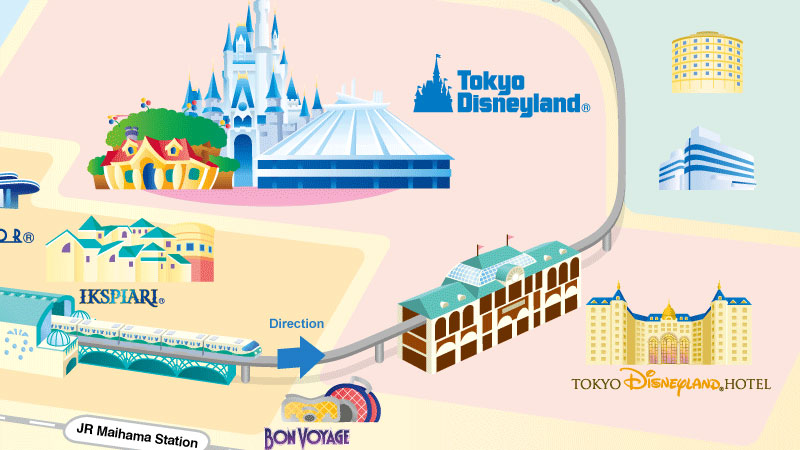 Stasiun Tokyo Disneyland