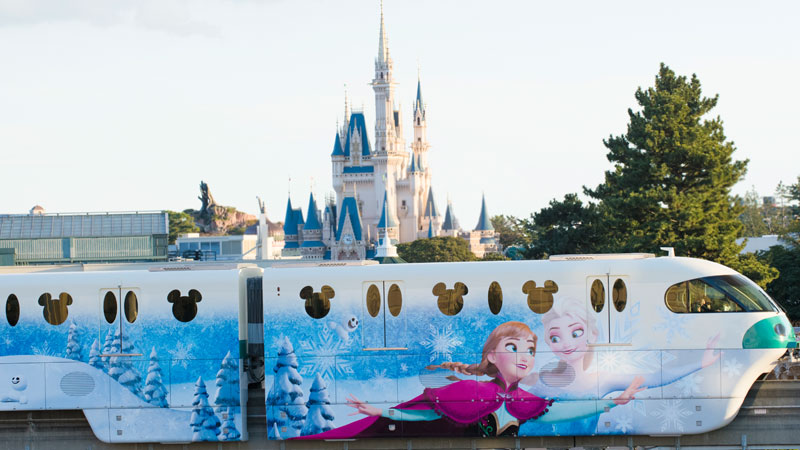 Anna and Elsa's Snow Crystal Liner