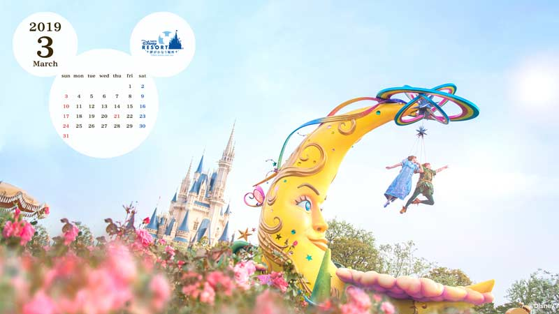 公式壁紙カレンダー 東京ディズニーリゾート