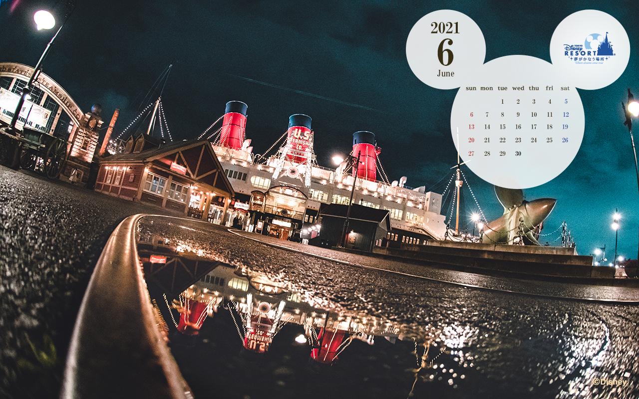 公式 壁紙カレンダー 東京ディズニーリゾート