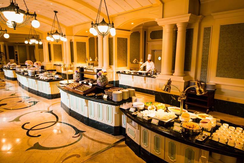 ビュッフェ ディズニーランド ホテル