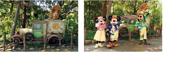 ミッキー&フレンズ・グリーティングトレイルのイメージ