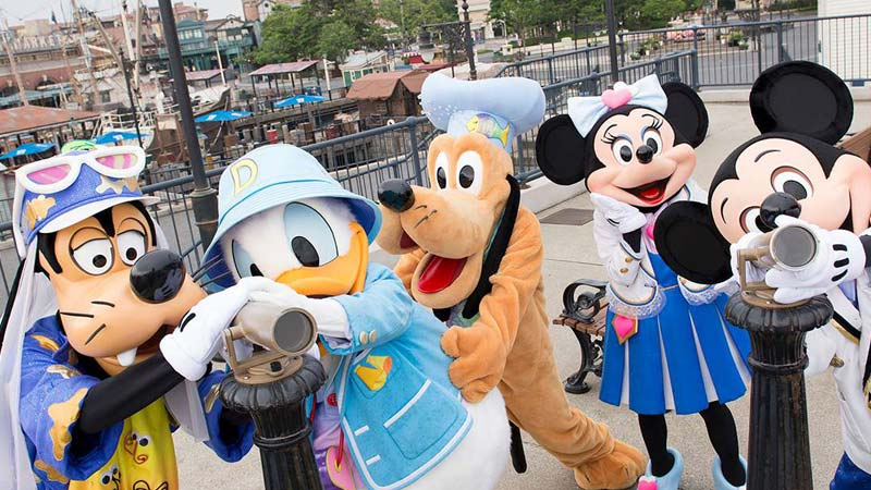 Tokyo DisneySea Kali Pertama