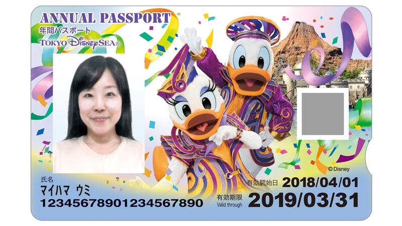 東京ディズニーシー年間パスポートのイメージ