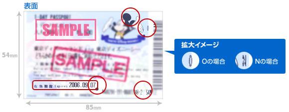 名刺サイズ(バーコード付・磁気付)のイメージ