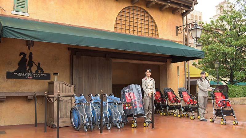 Stroller & Wheelchair Rentals