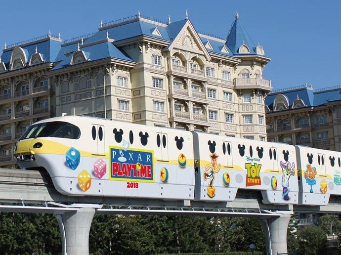 Monorel Disney Resort Line2
