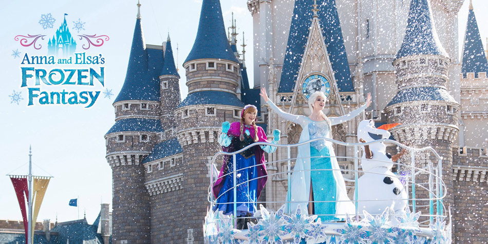 Anna and Elsa's Frozen Fantasy image