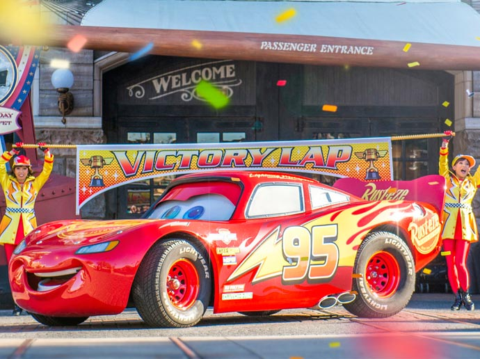 Lightning McQueen Victory Lap image1