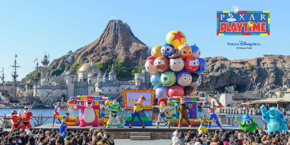 """东京迪士尼海洋特别活动""""皮克斯游戏时间"""""""