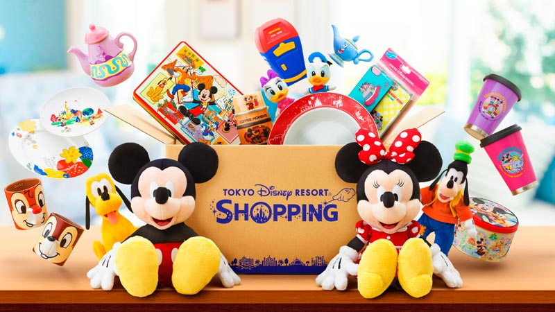 Purchasing merchandise and food souvenirs online through the Tokyo Disney Resort App